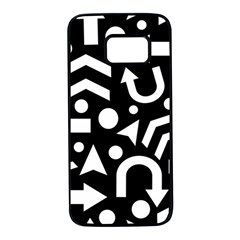 Right direction Samsung Galaxy S7 Black Seamless Case