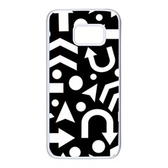 Right direction Samsung Galaxy S7 White Seamless Case