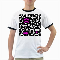 Right direction - magenta Ringer T-Shirts
