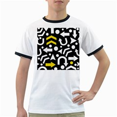 Right direction - yellow Ringer T-Shirts