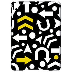 Right direction - yellow Apple iPad Pro 9.7   Hardshell Case