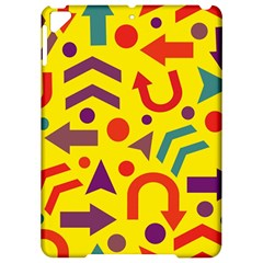 Yellow direction Apple iPad Pro 9.7   Hardshell Case