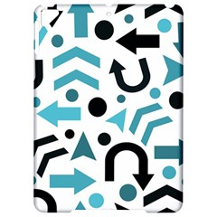 Cyan direction pattern Apple iPad Pro 9.7   Hardshell Case