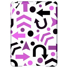 Magenta direction pattern Apple iPad Pro 9.7   Hardshell Case
