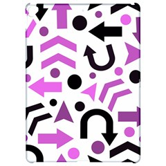 Magenta direction pattern Apple iPad Pro 12.9   Hardshell Case