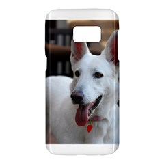White German Shepherd Samsung Galaxy S7 Hardshell Case