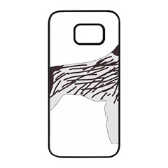 German Wirehaired Pointer Silo Color Samsung Galaxy S7 edge Black Seamless Case