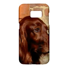 Irish Setter Samsung Galaxy S7 Hardshell Case