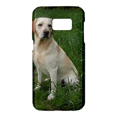 Yellow Labrador Full Samsung Galaxy S7 Hardshell Case