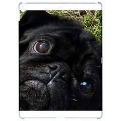 Black Pug Eyes Apple iPad Pro 12.9   Hardshell Case