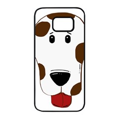Dalmation 2 Sided Liver Samsung Galaxy S7 edge Black Seamless Case