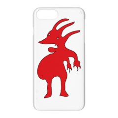Grotesque Red Creature  Apple Iphone 7 Plus Hardshell Case