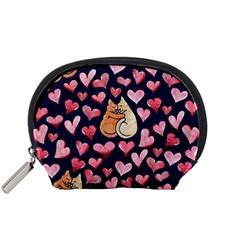 Crazy Cat Love Accessory Pouches (small)