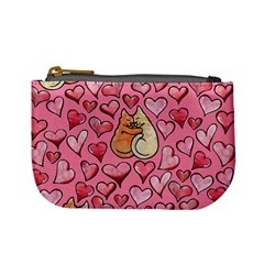 Cat Love Valentine Mini Coin Purses