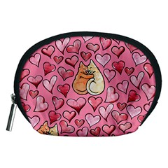 Cat Love Valentine Accessory Pouches (medium)