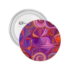 Candy Abstract Pink, Purple, Orange 2.25  Buttons