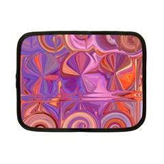 Candy Abstract Pink, Purple, Orange Netbook Case (Small)