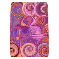 Candy Abstract Pink, Purple, Orange Flap Covers (L)