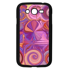 Candy Abstract Pink, Purple, Orange Samsung Galaxy Grand DUOS I9082 Case (Black)
