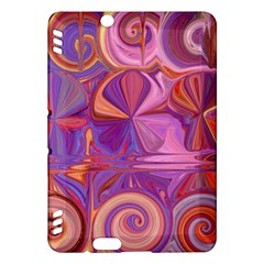 Candy Abstract Pink, Purple, Orange Kindle Fire Hdx Hardshell Case