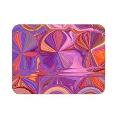Candy Abstract Pink, Purple, Orange Double Sided Flano Blanket (mini)