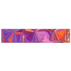 Candy Abstract Pink, Purple, Orange Flano Scarf (small)