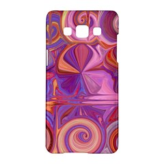 Candy Abstract Pink, Purple, Orange Samsung Galaxy A5 Hardshell Case