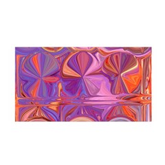 Candy Abstract Pink, Purple, Orange Satin Wrap