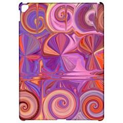 Candy Abstract Pink, Purple, Orange Apple Ipad Pro 12 9   Hardshell Case