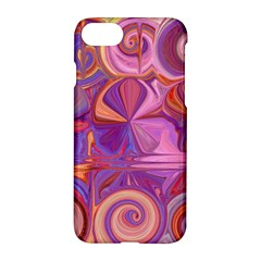 Candy Abstract Pink, Purple, Orange Apple Iphone 7 Hardshell Case