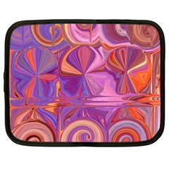 Candy Abstract Pink, Purple, Orange Netbook Case (xl)