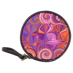 Candy Abstract Pink, Purple, Orange Classic 20 Cd Wallets