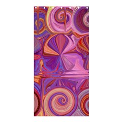 Candy Abstract Pink, Purple, Orange Shower Curtain 36  x 72  (Stall)