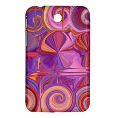 Candy Abstract Pink, Purple, Orange Samsung Galaxy Tab 3 (7 ) P3200 Hardshell Case