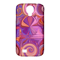 Candy Abstract Pink, Purple, Orange Samsung Galaxy S4 Classic Hardshell Case (pc+silicone)