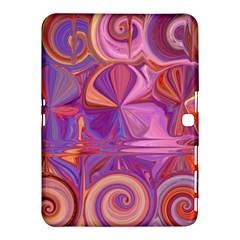 Candy Abstract Pink, Purple, Orange Samsung Galaxy Tab 4 (10 1 ) Hardshell Case