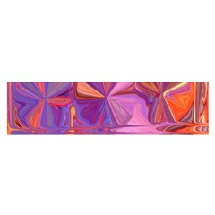 Candy Abstract Pink, Purple, Orange Satin Scarf (oblong)