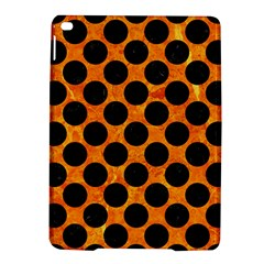 Circles2 Black Marble & Orange Marble (r) Apple Ipad Air 2 Hardshell Case