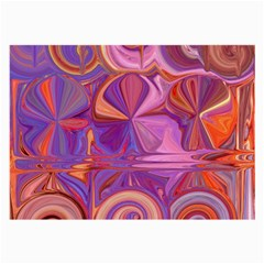 Candy Abstract Pink, Purple, Orange Large Glasses Cloth