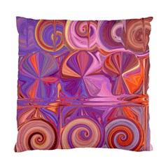 Candy Abstract Pink, Purple, Orange Standard Cushion Case (One Side)