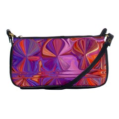 Candy Abstract Pink, Purple, Orange Shoulder Clutch Bags