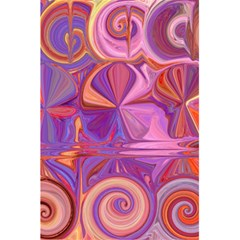 Candy Abstract Pink, Purple, Orange 5.5  x 8.5  Notebooks