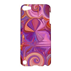Candy Abstract Pink, Purple, Orange Apple Ipod Touch 5 Hardshell Case