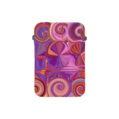 Candy Abstract Pink, Purple, Orange Apple Ipad Mini Protective Soft Cases