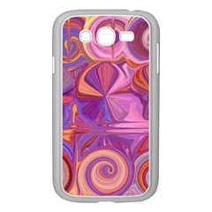 Candy Abstract Pink, Purple, Orange Samsung Galaxy Grand DUOS I9082 Case (White)