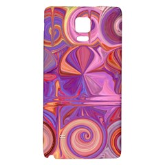 Candy Abstract Pink, Purple, Orange Galaxy Note 4 Back Case