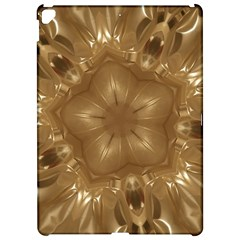 Elegant Gold Brown Kaleidoscope Star Apple iPad Pro 12.9   Hardshell Case