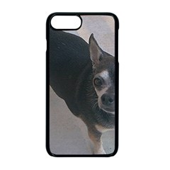 Full 2 Chihuahua Apple iPhone 7 Plus Seamless Case (Black)
