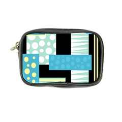 Blue collage Coin Purse