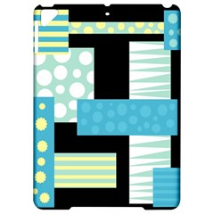 Blue collage Apple iPad Pro 9.7   Hardshell Case